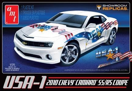 "2010 Chevrolet Camaro SS/RS Coupe ""USA-1 version"" - 1:25 - AMT"