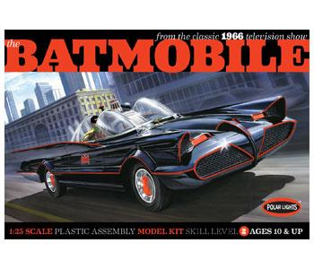 "1966 Classic TV Batmobile (""Batman"" TV-serie 1966) - 1:25 - Polar Lights"