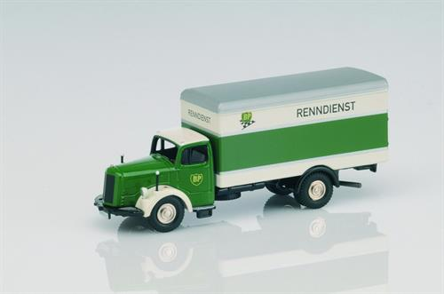 "Mercedes-Benz L6600 ""BP-Renndienst"" - H0 - Lim. 1000 - BUB"