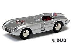 "Mercedes-Benz 300 SLR 1-seater ""Pittsburgh Wintage GP 2007"" - H0 - Lim. 500 - BUB"