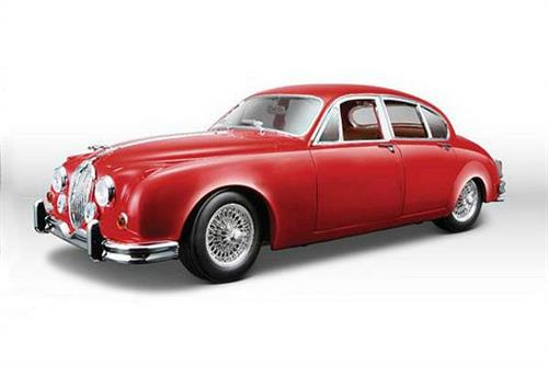 Jaguar Mark II (1959), rød - 1:18 - Bburago