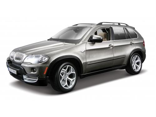 BMW X5 (2001), grey metallic - 1:18 - Bburago