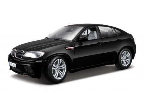 BMW X6 M (2008), black metallic - 1:18 - Bburago
