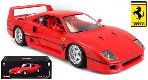 "1990 Ferrari F40, red - ""Original Series"" - 1:18 - Bburago"