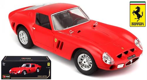 "1962 Ferrari 250 GTO, red - ""Original Series"" - 1:18 - Bburago"
