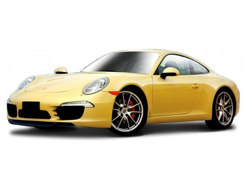 Porsche 911 Carrera S (2011), yellow - 1:24 - Bburago