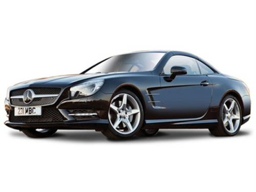Mercedes-Benz SL 500 Hardtop, grey metallic - 1:24 - Bburago