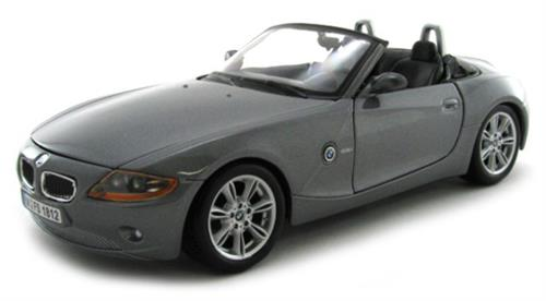 BMW Z4 - metallic grey - 1:24 - Bburago