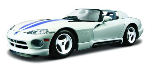 Dodge Viper RT/10, white - 1:24 - Bburago