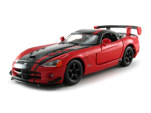 Dodge Viper SRT 10 Acr, red/black - 1:24 - Bburago