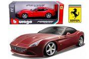 Ferrari California T (lukket top), rød metallic - 1:24 - Bburago