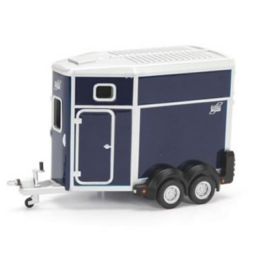 Ifor Williams Trailers HB506 Horse Box, blue - 1:32 - Britains (Udsolgt fra fabrik)