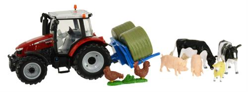 Massey Ferguson 5612 Tractor play set - 1:32 - Britains