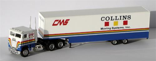 "Freightliner, moving van ""Collins Moving Systems, Inc."" - H0 - Con-Cor"