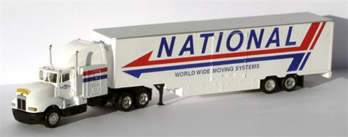 "Kenworth T600A, 48"" trailer ""National"" - H0 - Con-Cor"