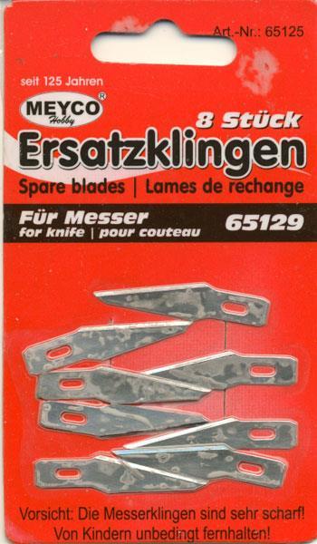 Kniv: Skalpelkniv metal, m/lang kniv