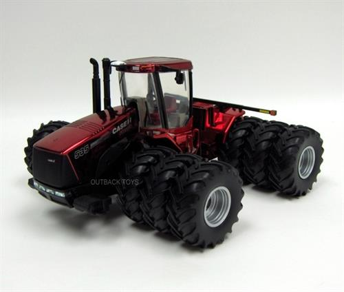 Case IH Steiger 535 4WD Farm Show Edition 2010, Metallic Chrome Red - 1:32 - Ertl