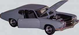 1970 Chevrolet Chevelle, primer grey (Fast & Furious #4) - 1:18 - Ertl American Muscle/Auto World