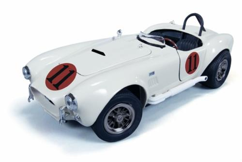 "1965 Shelby Cobra 427 S/C, white (Elvis Presley #11 - ""Spinout"") - 1:18 - Ertl American Muscle/Auto World"