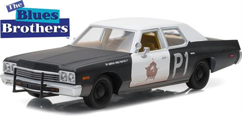 "1974 Dodge Monaco ""Bluesmobile"" - ""Blues Brothers (1980)"" - 1:24 - Greenlight"