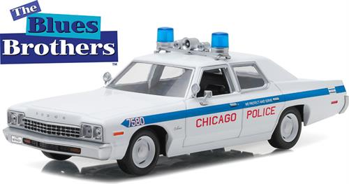 "1975 Dodge Monaco Chicago Police Department ""Blues Brothers (1980)"" - 1:24 - Greenlight"