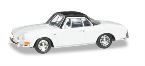 VW Karmann Ghia II, pure white - 1:87 / H0 - Herpa