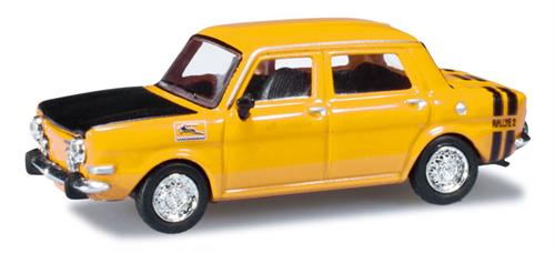Simca Rallye II, broom yellow - 1:87 / H0 - Herpa