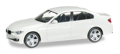 BMW 3er, alpin white - 1:87 / H0 - Herpa