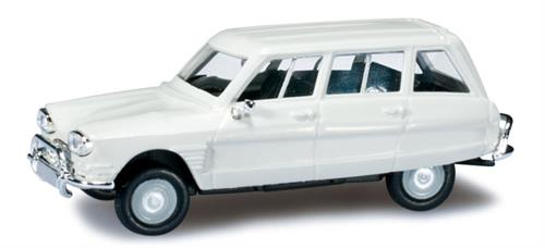 Citroen Ami 6 Break, cream white - 1:87 / H0 - Herpa