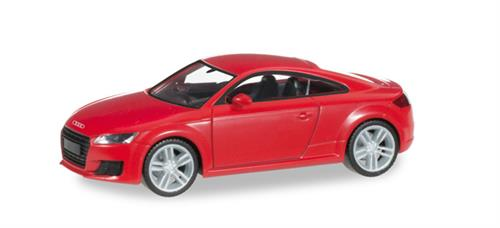 Audi TT Coupé, brilliant red - 1:87 / H0 - Herpa