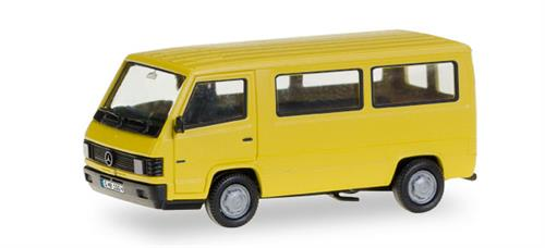 "Mercedes-Benz 100 D Bus ""Herpa-H-Edition"" (with printed license plates) - 1:87 / H0 - Herpa"