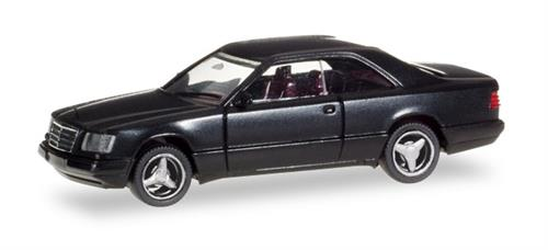 Mercedes-Benz E 320 Coupé, black -  1:87 / H0 - Herpa