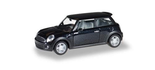 Mini Cooper S, midnight black metallic - 1:87 / H0 - Herpa