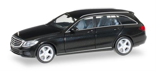 Mercedes-Benz C-Class T Elegance, black metallic - 1:87 / H0 - Herpa