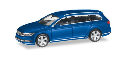 VW Passat Variant, atlantic blue metallic - 1:87 / H0 - Herpa