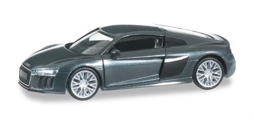 Audi R8 V10, camouflage green metallic - 1:87 / H0 - Herpa