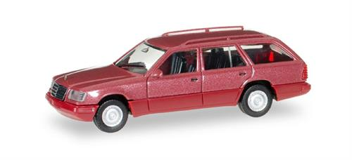 Mercedes-Benz E 320 T (W124), almadin red metallic - 1:87 / H0 - Herpa