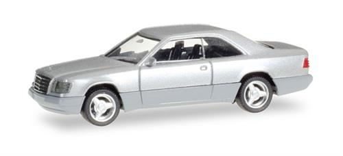 Mercedes-Benz E 320 Coupé, silver metallic -  1:87 / H0 - Herpa