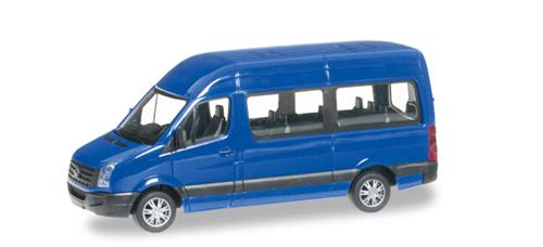 VW Crafter Bus high roof, ultramarin blue - 1:87 / H0 - Herpa