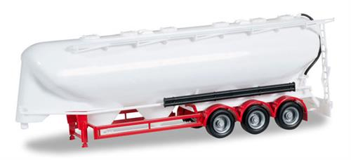 Tank trailer 55m³ 3a, undecorated, red - 1:87 / H0 - Herpa