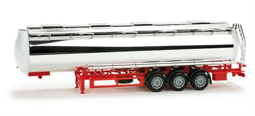 Chromium plated foodtank trailer, undecorated - 1:87 / H0 - Herpa