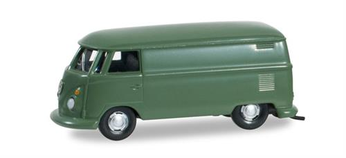 VW T1 van, reed green - 1:87 / H0 - Herpa