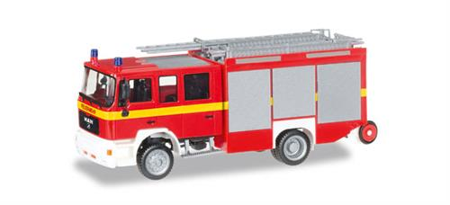 "MAN M 2000 fire truck HLF 20 ""fire department"" - 1:87 / H0 - Herpa"