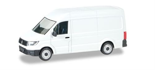 VW Crafter 2016 high roof, white - 1:87 / H0 - Herpa