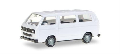 VW T3 Bus, white - 1:87 / H0 - Herpa