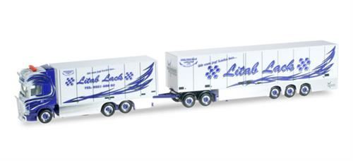 "Scania R TL Eurocombi modulvogntog ""Malmbergs"" (S) - Herpa Exclusive Series - 1:87 / H0 - Herpa"
