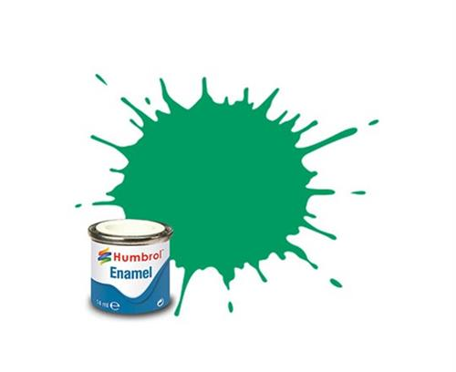 (50) - Green Mist Metallic, Enamel Paint - 14 ml - Humbrol
