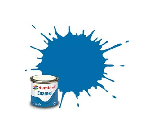 (52) - Baltic Blue Metallic, Enamel Paint - 14 ml - Humbrol