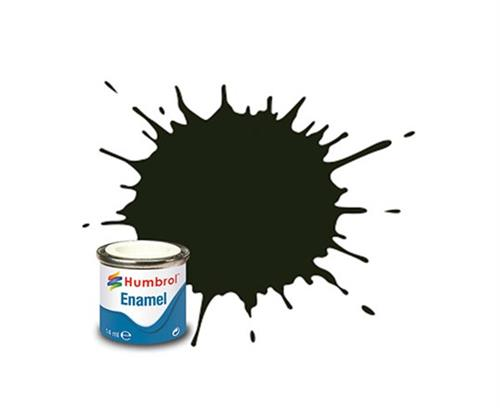 (53) - Gunmetal Metallic, Enamel Paint - 14 ml - Humbrol