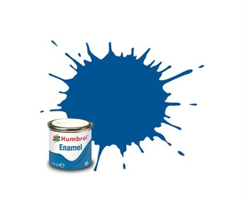 (222) - Moonlight Blue Metallic, Enamel Paint - 14 ml - Humbrol